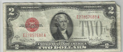Series 1928-G Us Note  $2 Bill ~~Tough Date~~Xf