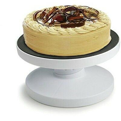 Tala Tilting Icing Turntable, White - Turntable
