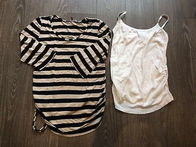 Maternity T shirt top bundle new look size 12. 4 items