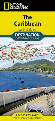 National Geographic Destination Touring Map & Guide The Caribbean DM01020631