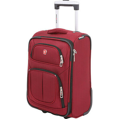 "SwissGear Travel Gear 6283 17"" 2-Wheeled Carry-On 6 Colors Softside Carry-On NEW"