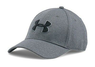 Under Armour 1283151 Men's Hat UA Heathered Blitzing Headwear Training Running ^