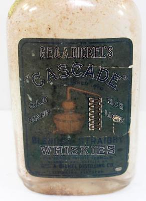 Antique Geo. A. Dickel & Co. Cascade Distillery Blended Straight Whiskies Bottle
