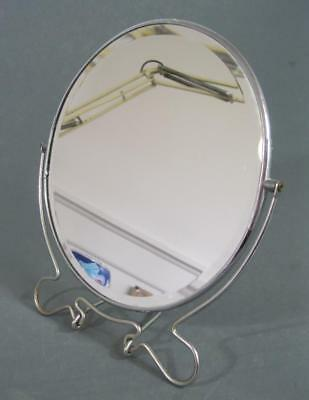 Vintage deco/retro 50s-60s chrome mirror/picture frame fold-up -dressing table