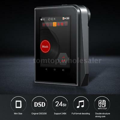 RUIZU A50 DSD256 Mini MP3 Player HiFi Lossless Music Audio USB OTG 64GB TF Card