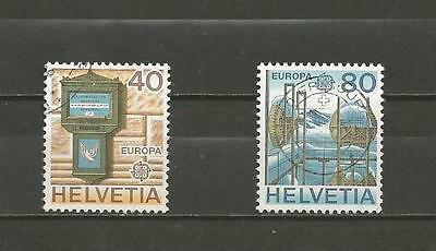 SWITZERLAND - 1979 Eurostamps   -GOOD USED COMPLETE