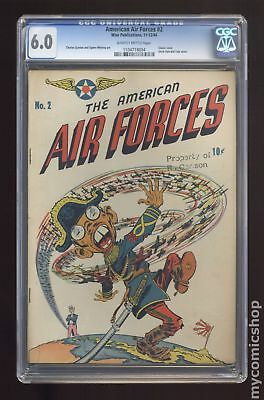 American Air Forces #2 1944 CGC 6.0 1104718004