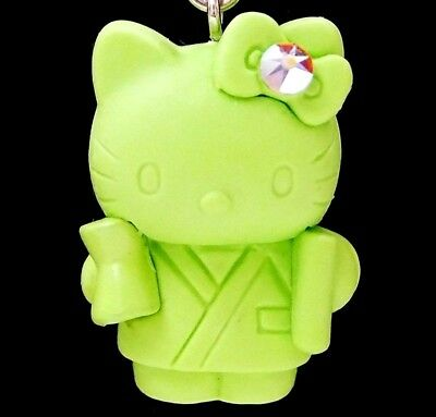Hello Kitty X Traditional Doll Swarovski Elements Crystals Japan Charm Pendant