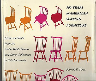 300 years of american seating furniture by patricia Kane new york graphic 1976