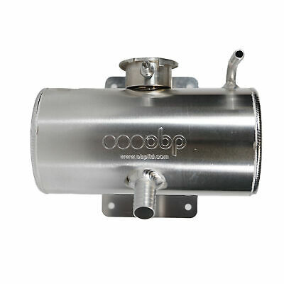 OBP Race / Rally Cooling 1.5L Alloy Horizontal Cylindrical Header Tank