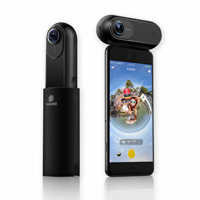 Insta360 ONE 4K Panoramic 360° VR Action Sports Camera for iPhone 8 Plus/X