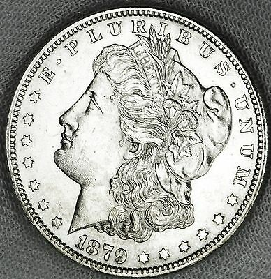 1879-s Silver Dollar High Grade Full Chest Feathers (INV.A)