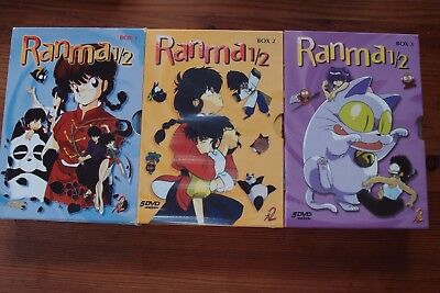 Ranma 1/2 ** Box 1 -3 ** 15 DVDs ** Manga Anime