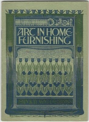 1920s Guide to Home Drapery, Upholstery, Curtains, Room Decoration