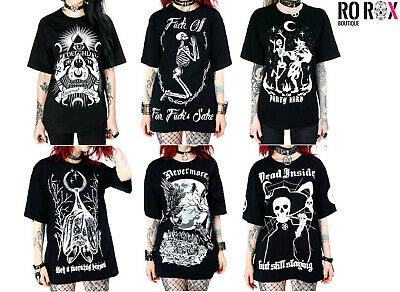 Restyle T-Shirt Immortal Skeleton Lovers Gothic Zombie Skelett Rave Punk  RS2