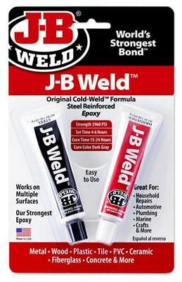 J-b Weld Original Formula Steel Reinforced Epoxy Adhesive Twin 1oz Pack 2nd Post