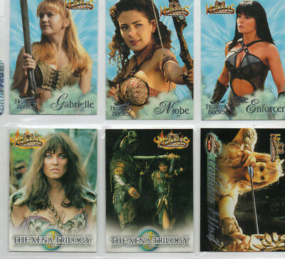 Hercules Complete Journeys - Lot of 6 different chase cards NM Rittenhouse