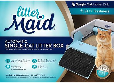 Littermaid Self-Cleaning Litter Box Automatic Single Cat NEW! Easy Use!