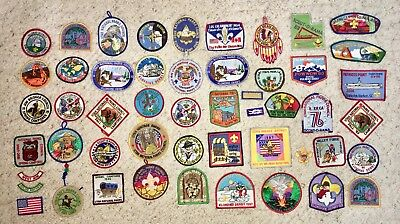 Lot Of 50+ Patches Mostly Boy Scout From Utah National Parks - Great Salt Lake