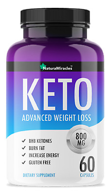 Keto- Weight Loss Ketogenic Diet Supplement 60 Capsules
