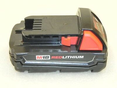 NEW Milwaukee M18 Red Lithium 18-V Rechargeable Battery 48-11-1815 * FREE SHIP *