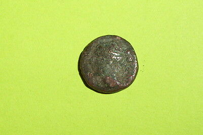 LARISSA THESSALY 325 BC-250 BC Ancient GREEK COIN nymph grazinging horse G good