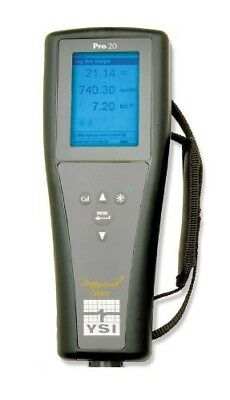 YSI Pro20 Lab/Field Dissolved Oxygen/Temperature Meter, 0 to 50 For mg 6050020