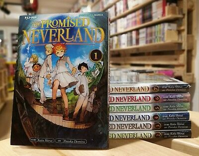 The Promised Neverland 1/7 Serie Completa - Jpop Manga - ITALIANO NUOVO #NSF3