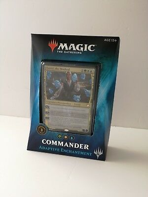 Magic the Gathering Commander 2018 Deck: Adaptive Enchantment NEW