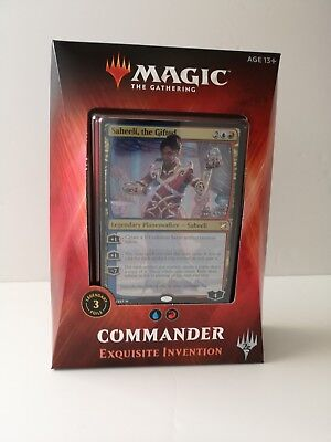 Magic the Gathering Commander 2018 Deck: Exquisite Intervention NEW