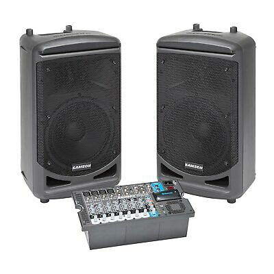 Samson Expedition XP1000 - 1,000 Watt Portable PA System & Mixer with Bluetooth