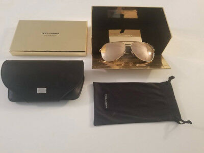 7f5405a3ad9c DOLCE AND GABBANA GOLD EDITION SUNGLASSES 18k GOLD PLATED DG 2166 BRAND NEW