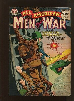 All American Men Of War #20 (6.0) Lifenet To Beach Red