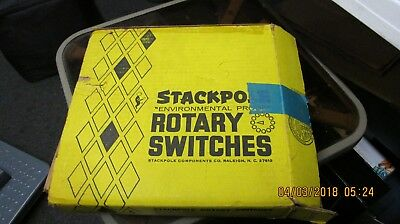 stackpole rotary switches  304 77 16   73 1031  1 12 6 7 box of 25