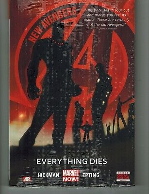 New Avengers Prem Hc Vol 1 Everything Dies Now Kickman Epting Marvel Comic Aug