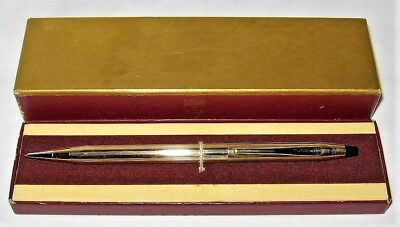 Vintage Cross Century 1/10 12K Gold Filled MECHANICAL PENCIL in Original Box