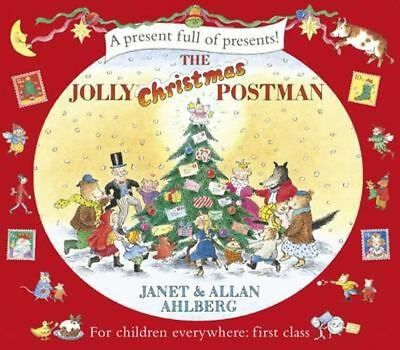 NEW The Jolly Christmas Postman By Janet Ahlberg Hardcover Free Shipping