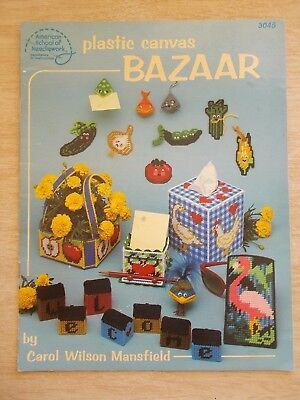 Plastic Canvas Bazaar~ASN #3045~Assorted Gifts~1986~17pp