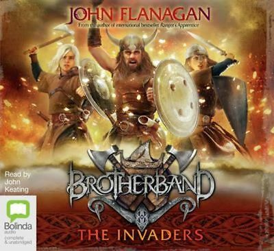 NEW The Invaders By John Flanagan Audio CD Free Shipping