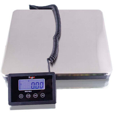 SAGA 360 LB X 0.2 lb DIGIT POSTAL SCALE SHIPPING for WEIGHT 160 KG POSTAGE AC/W