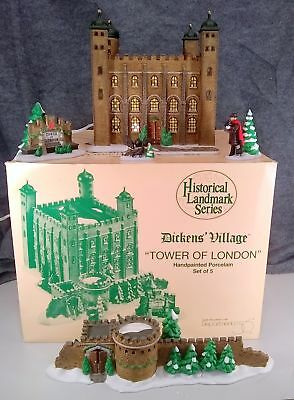 Department 56 Dickens' Village Tower Of London Vintage Collectable