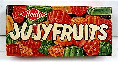 Old Early Heide Jujy Fruits Candy Box Full Unsold Old Store Stock