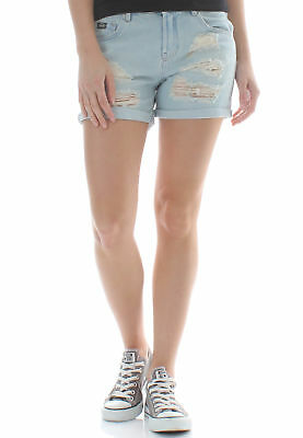 22a676d829aa SUPERDRY STEPH BOYFRIEND Womens Shorts - Holiday Blue All Sizes ...