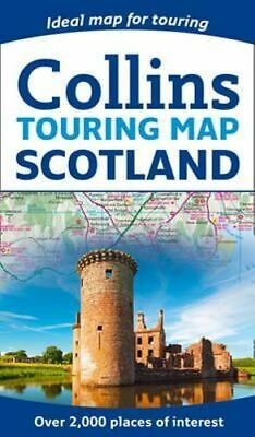 NEW Scotland Touring Map By Collins Maps Not Supplied By Publisher Free Shipping