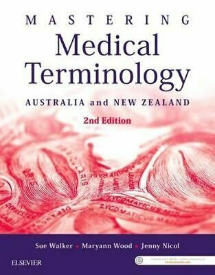 NEW Mastering Medical Terminology 2nd Edition By WALKER Paperback Free Shipping