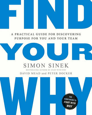 NEW Find Your Why By Simon Sinek Paperback Free Shipping