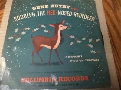 COL.Children's lb.78+Picture Sleeve/Gene Autry/Christmas Favorites