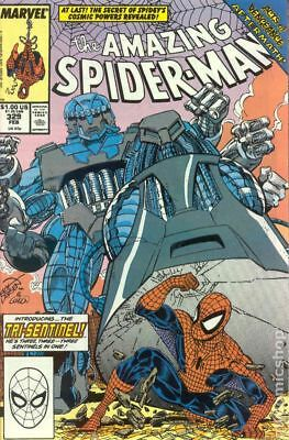 Amazing Spider-Man (1st Series) #329 1990 FN Stock Image