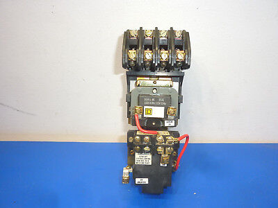 Square D 8903 Lxo40 Lighting Contactor 20 Amp 600 Vac 120 Vac Coil,used,tested