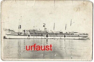 German / Italian WWII Hospital Ship Aquileia Photo